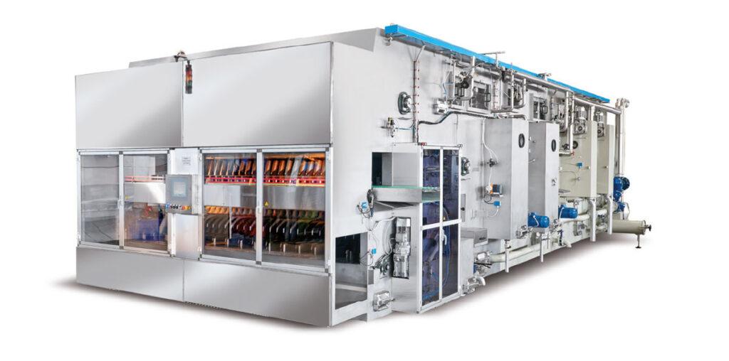 maszyny myjace dla butelek nowych - zwrotnych - linia produkcyjna