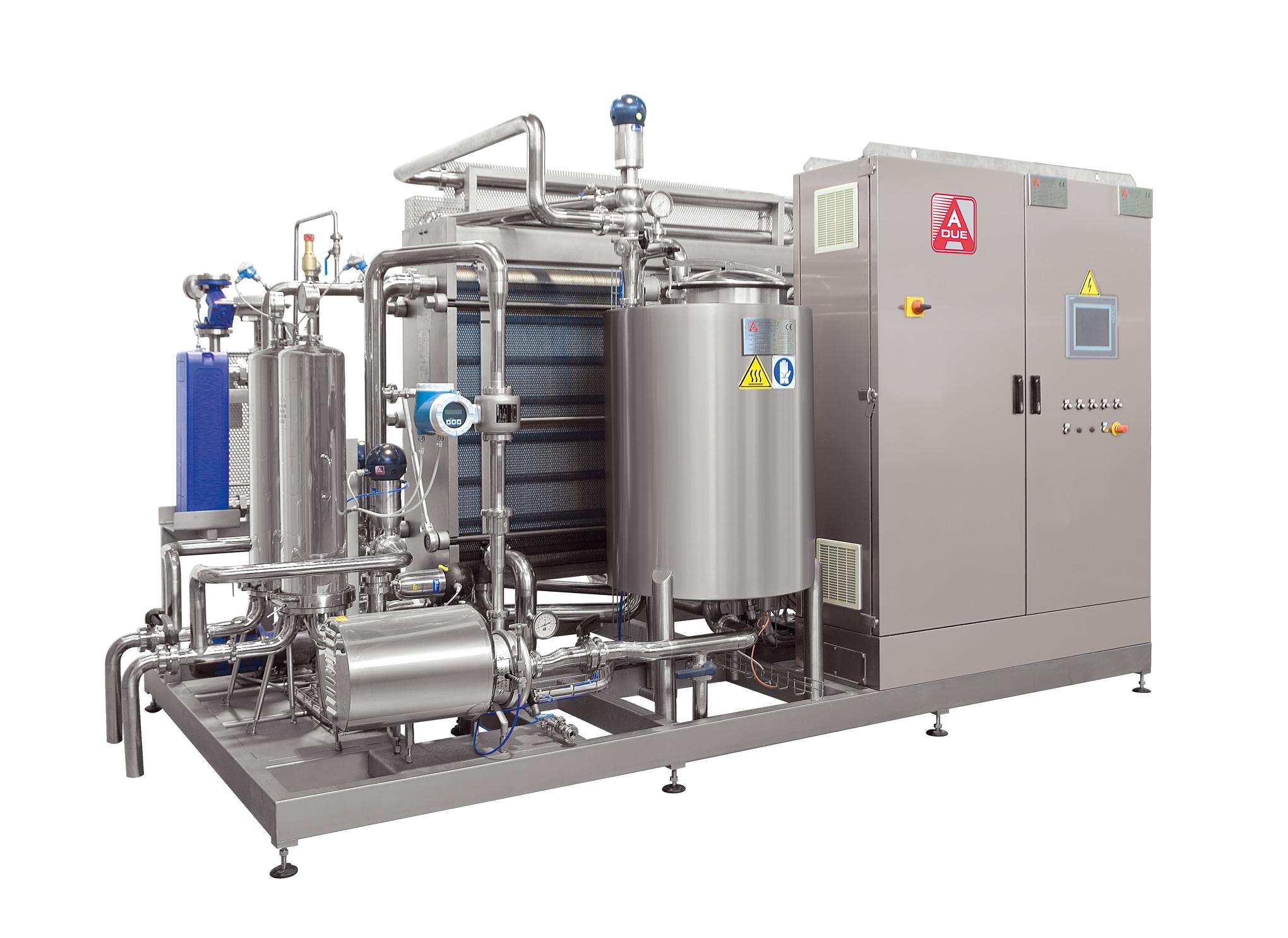 Pasteryzatory przepływowe - maszyny linii produkcyjnej