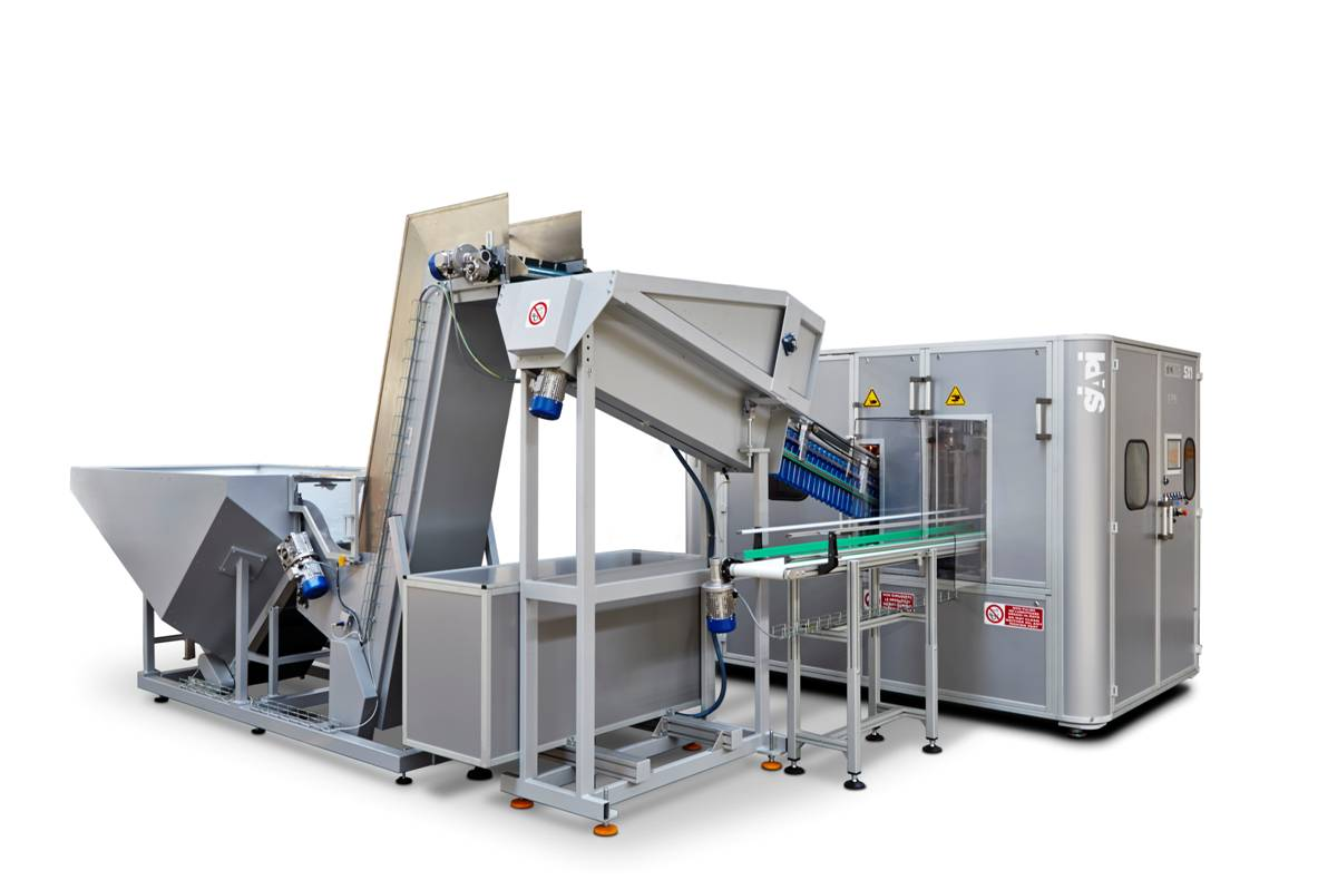 Wydmuchiwarki butelek współpracujące z wszystkimi maszynami rozlewniczymi